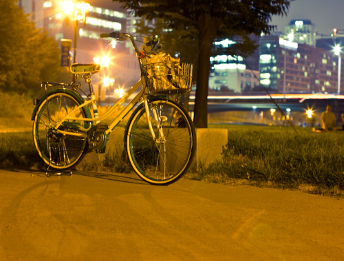 Bike Riding in Bundang Korea